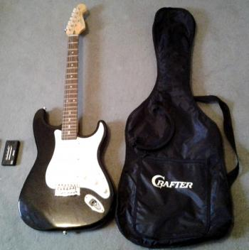 guitare electrique crafter